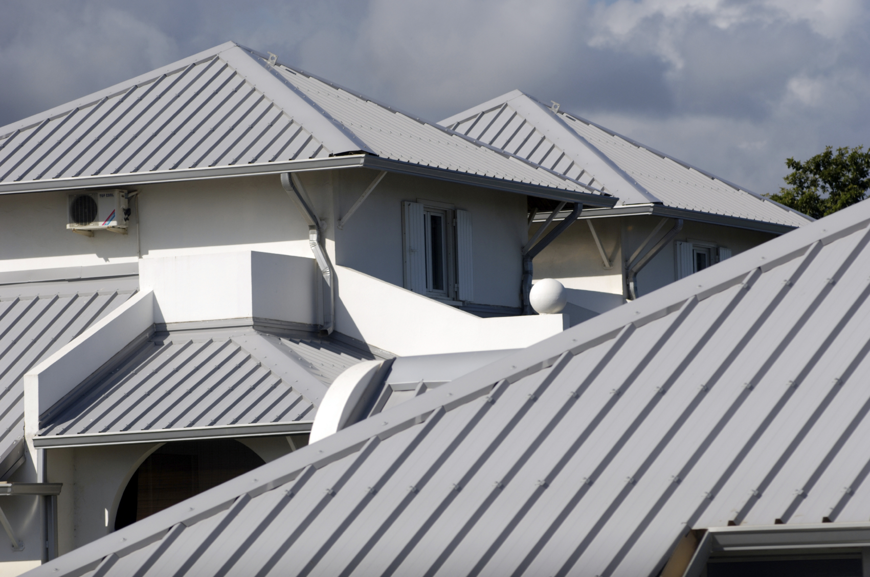 Roofing Gutters and Flashing